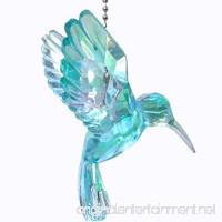 Acrylic Hummingbird Ceiling Fan Pull Light Chain Ornament (Blue) - B077PDTQ8Z