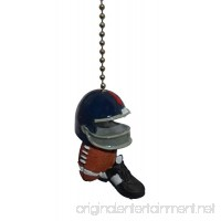 Clementine Football ball helmet cleats shoe sports decor CEILING FAN PULL light Chain ornament - B001GFABNE