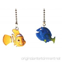 Finding Nemo Finding Dory Ceiling Fan Pull Set (Nemo & Dory) - B01NCKCRE6
