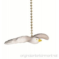 Flying Seagull Decorative Ceiling Fan Light Dimensional Pull Clementine Design - B00T3TS6J6