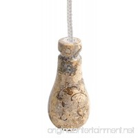 Himalayan Marble Light Pull - Fossilstone by Fossil Gift Shop - B01DUBGCMU