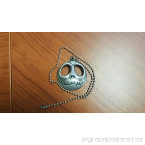 Jack Skellington Nightmare Before Christmas Halloween Ceiling Fan Light Kit Beaded Pull Chain 3 COLORS (Silver) - B01I41UE16