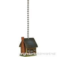 River's Edge Products Log Cabin Fan Pull - B000NL60VE