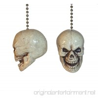 Skulls Ceiling Fan Pull Chain by Wooden Androyd Studio (Skulls 1) - B076PYLS84