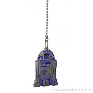 Star Wars R2-D2 Robot Droid Character Metal Ceiling Fan Pull Chain extender - B07FFCGQ7S