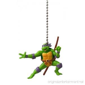 Teenage Mutant Ninja Turtles Figure Ceiling FAN PULL light chain (DONATELLO - purple mask) - B00OVB6W10