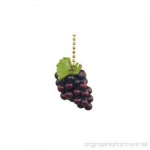 Tuscany Grapes Wine Lover Kitchen Fan Light Pull - B00205BYGC