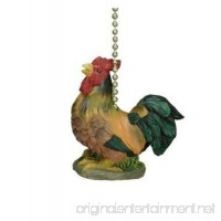 Whimsical Rooster Farm Decorative Ceiling Fan Light Pull - B000UUEAAQ