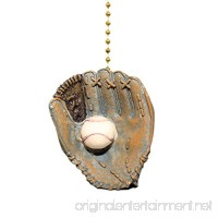 World Series Baseball Glove Ball Ceiling Fan & light Pull - B001LJU978