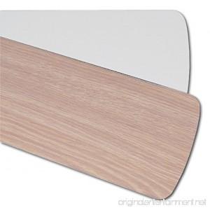 Quorum 5255206125 Five Reversible Washed Oak / White Blades 52 Blade Span - B0030MR2JW