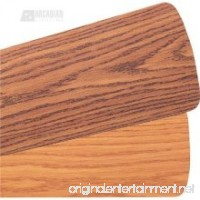 "Quorum 6055655125 Accessory - 60"" Type 5 Fan Blade (Set of 5)  Dark Oak/Rosewood Finish - B00SXIHQCG"
