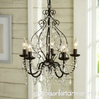 Aero Snail North American Country Style Crystal 5-Light Chandelier Lighting Metal Pendant Lamp - B01BIQLELS