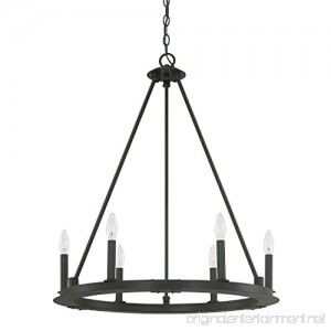 Capital Lighting 4916BI-000 Six Light Chandelier - B00T3IQLBW
