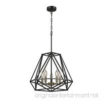 Globe Electric 65435 Sansa 5-Light Dark Bronze Chandelier  Dark Bronze - B06XG115LC