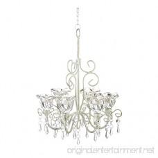 Home Locomotion Crystal Blooms Candle Chandelier - B00O1HVP20