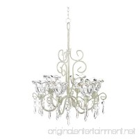 Home Locomotion Crystal Blooms Candle Chandelier - B00O1HVP20