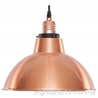 Light Society Corianna Pendant Light  Brushed Copper  Modern Industrial Farmhouse Lighting Fixture (LS-C152) - B01LZUIN07