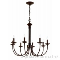 """Trans Globe Lighting 9018 ROB Indoor  Candle 26.5"""" Chandelier  Rubbed Oil Bronze - B000PGX7CM"""