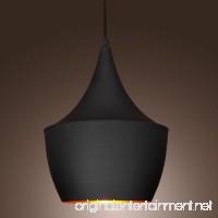 60W Pendant Light in Black Shade Modern/Comtemporary Pendant Light Fit for Li... - B00E8CXRTC