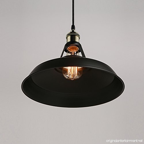 B2ocled Retro Industrial Black Pendant Lighting Small Barn