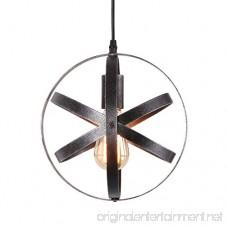 Eumyviv P0013 1-Light Spherical Displays Changeable Industrial Pendant Ceiling Light Edison Vintage Decorative Hanging Lighting Fixtures Lighting Luminaire - B0779PMXW4