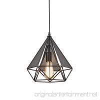 YOBO Lighting Polygon Loft Art Deco Vintage Wire Pendant Kitchen Chandeliers  Oil Rubbed Bronze - B00Z9PPKHE