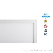 2-PACK ASD 2x2 LED Panel Edge-Lit Flat 36W 4000K (Bright White) Dimmable Commercial Grade UL Certified DLC Listed - B072WYKBKT