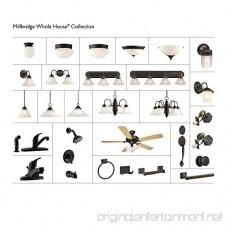 Design House 514521 Millbridge 1 Light Round Ceiling Light Oil Rubbed Bronze - B003C0OLO6