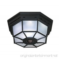 Heath Zenith HZ-4300-BK-B 360-Degree Motion-Activated Octagonal Ceiling Light Black - B00BC3IPOW