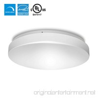"Hyperikon LED Flush Mount Dimmable Ceiling Light 14""  25W (100W Equivalent)  1520 lumens  4000K (Daylight Glow)  UL-Listed - B01N7J34KQ"