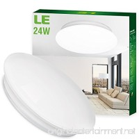 LE 24W 16-Inch Daylight White LED Ceiling Lights 180W Incandescent (50W Fluorescent) Bulb Equivalent 2000lm 6000K Ceiling Light Fixture Ceiling Lighting Flush Mount Light - B00L4R8OLU