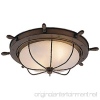 Vaxcel OF25515RC Orleans 15-Inch Outdoor Ceiling Light Antique Red Copper - B00D3MQH40