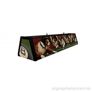 44 Acrylic Pool Table Light Dogs Playing Pool - B01E672AIM