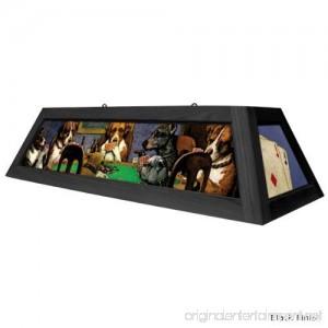 Dogs Playing Poker Pool Table Light - Brown - B008UU7X98