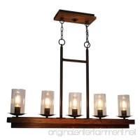 Artcraft Lighting Legno Rustico Island Light Dark Pine/Brunito - B00U6FZCQG