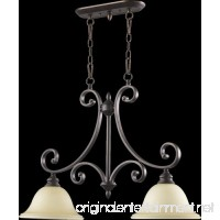 Bryant Two Light Kitchen Island Light in Oiled Bronze - B00MOJ9NWG