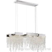 Quoizel PCCL1033PK Platinum Collection Crystal Falls Island Chandelie Light - B078JB95TJ