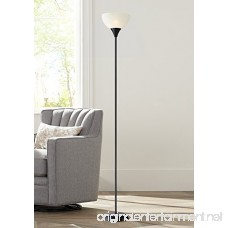 Bailey Black Torchiere Floor Lamp - B01IRMGAIS