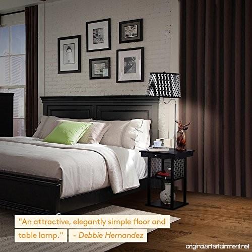 Lighted End Tables Living Room Furniture: Mid Century Modern Nightstand Alexa