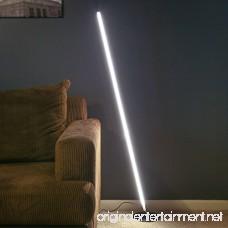Brightech Tilt LED Floor Lamp – Dimmable Urban Contemporary Modern Light Fixture- Tall Standing Floor Lamp with Decorative Design- for Living Room Den Family Room Office Bedroom - Black - B07BPVQ9J3
