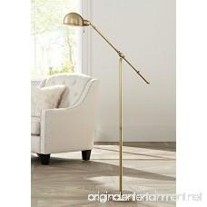 Dawson Antique Brass Pharmacy Floor Lamp - B01GW7BZ6M
