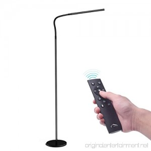 Joly Joy Floor Lamp 12W Dimmable Standing Lamp with Touch & Remote Control - Flexible Gooseneck Reading Lamp for Home Living Room Office Desk 4 Color Change & 5 Brightness Dimmer Standing Light - B07C4RHVWR