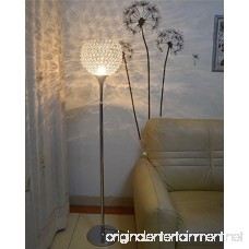 Surpars House Ball Shape Crystal Floor Lamp Silver - B078MM25SB