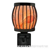Himalayan Glow 1804 Natural Salt Lamp Wall Plug in 360 Rotatable Framed Night Light by WBM - B06Y2ZPCDG