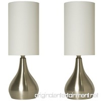 Light Accents Touch Table Lamp Modern 18 inches Tall  Touch Dimmer (2 Pack) - B0158VB6BC
