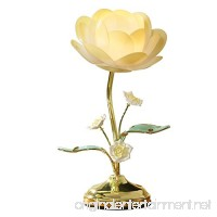 Lotus Flower Table Touch Lamp  Yellow - B00LWQM3DS