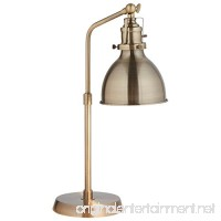 Rivet Pike Factory Industrial Table Lamp 19 H with Bulb Brass - B0742D9X4G