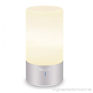 Solled Led Table Lamp Sensor Touch Bedside Lamp Dimmable