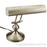 Boston Harbor ATB-8004 Piano Desk Lamp  Satin Nickel - B002SDR7OO