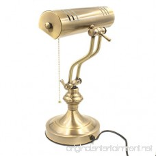 RUDY Piano Desk Lamp 15H Brushed Gold Finish - Elegant Home Accent and Perfect Gift SL003A - B01IJG87FG